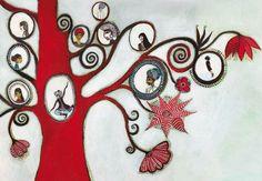 Raja, le plus grand magicien du monde - Didier Jeunesse - author : Carl Norac - 2009 - family tree inspiration