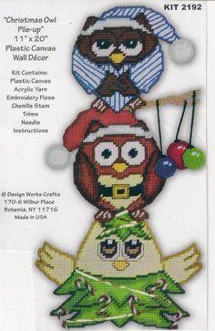 CHRISTMAS OWL PILE UP 1/6