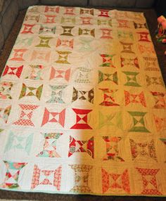 Richard and Tanya Quilts: Another late Christmas Finish