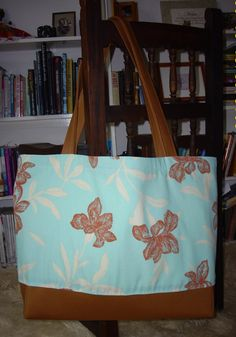 The B2  Big Bag  Extra Large Tote    Bahian Orchid by TheZenFalcon, $54.00