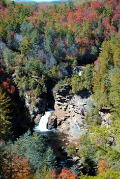 Linville Falls, Blue Ridge Parkway, North Carolina (Oct 2011)