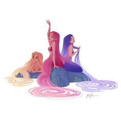 how to draw christmas Mermaid Artwork, Mermaid Drawings, Mermaid Paintings, Mermaid Poster, Fantasy Mermaids, Mermaids And Mermen, Character Inspiration, Character Art, Mermaid Lagoon