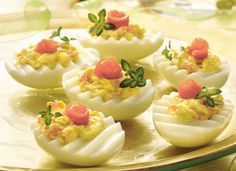 Very fancy classy Deviled Eggs, my collection of Deviled Eggs recipes keeps growing.
