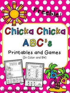 Letter fun is on the way with these interactive letter printables and games! Just grab a copy of Bill Martin Jr.s Chicka Chicka Boom Boom and read it to your class for fun! Then use the included  printables and games to extend their letter learning!Whats Inside:Chicka Chicka Consonant/Vowel Sort- cut, paste and sort vowels and consonants.Chicka Chicka Letter Match- cut and paste the matching upper and lowercase letters.Chicka Chicka Dot-a-Letter- stamp the uppercase letters.Chicka Chicka…