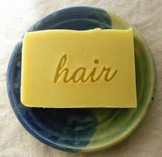 DIY Homemade Natural Shampoo Bar that will clean your hair naturally and is a good alternative to commercial shampoo.