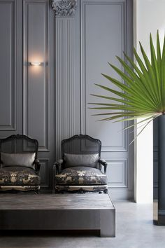 Guillaume Alan - The designer of the moment. Must see his interiors in Paris and London.