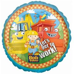 Bob the Builder Foil Balloon Party Accessory >>> To view further for this item, visit the image link.  This link participates in Amazon Service LLC Associates Program, a program designed to let participant earn advertising fees by advertising and linking to Amazon.com.