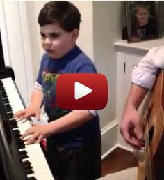 "Autistic 6-year-old plays and sings Billy Joel's ""Piano Man"""