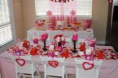 """Tweet heart"" Valentine themed party"