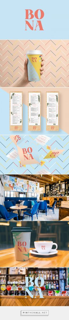 Bona Branding by Hmmm Creative Studio on Behance | Fivestar Branding – Design and Branding Agency & Inspiration Gallery