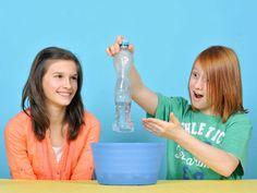 Experimente mit Wasser: Wer macht da Druck?