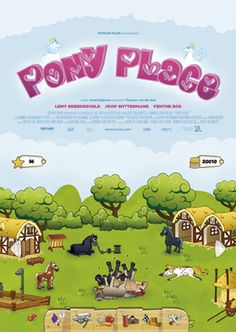 Cute as can be! Short film about grandparents who have to take care of the pony place (game) on their granddaughter's iPad. You can watch it here: http://kortefilmonline.ntr.nl/page/detail/kort/video/795324/pony-place--kort--2013-