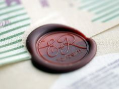 This is my favorite!!!! Initials & date stamp!
