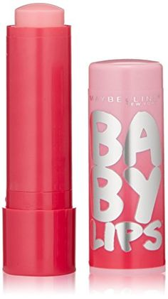 Maybelline New York Baby Lips Glow Balm, My Pink (Really cool because it adjusts to your lips to make a unique color) $2.97