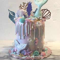 """Mermaid cake - Euphorique Sg (@euphoriquebakery) on Instagram: """"Please pardon us for our slow responses. It has been a really busy week for us, we cannot wait to…"""""""