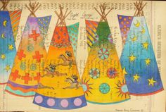Love of Ledger Art – History in Pictures Native American Paintings, Native American Pictures, Native American Artists, Native Drawings, Indian Quilt, Native American Regalia, Desert Art, Southwest Art, American Indian Art