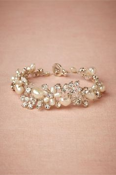 Perle Bracelet matches my dress/head piece perfect!
