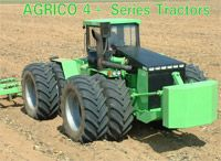 Agrico 4+ Tractors — AGRICO