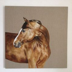 You know you must love your job when you decide to start a new painting really late and get up really early to do some more to it! Had been wondering what my 'Dark Horse' image would look like on linen ... am halfway through and am happy with its progress so far. Tony O'Connor whitetreestudio.ie