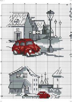 Gallery.ru / Фото #2 - c - denise10 Cross Stitch Numbers, Cross Stitch Borders, Cross Stitch Flowers, Cross Stitch Charts, Cross Stitch Designs, Cross Stitch Patterns, Blackwork Cross Stitch, Cross Stitching, Cross Stitch Embroidery