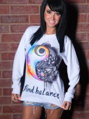 Find Balance Long Sleeve – ElectroThreads