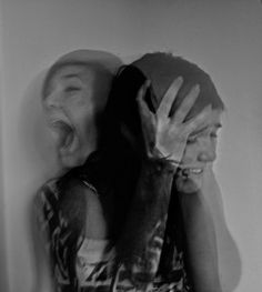 She is yelling, but there is no one for her to listen. #afraid #help #angry