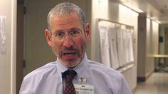 Dr. Dean Blumberg, associate professor and chief of pediatric infectious diseases at UC Davis Children's Hospital, gets his flu shot