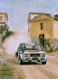 Fiat 131 Abarth a legend with multi link rear suspension,twincam 2000cc digit injection 210ps normal/ rally 320-340ps