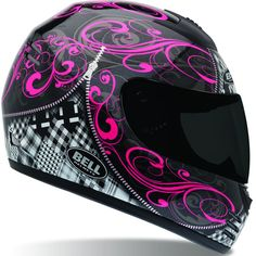 Bell Women's Arrow Zipped Helmet if I ever get a motorcycle this would be the helmet i want! lol