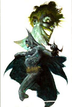 Batman and Joker by Simone Bianchi