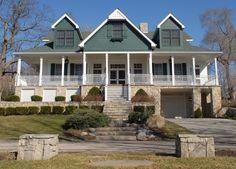 Barbara Bradley Baekgaard's home on Lake Gage.