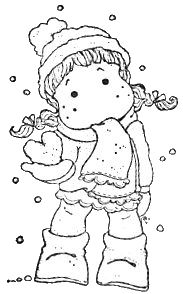 Sweet Dreams Christmas 2011 - Tilda With Snow Heart