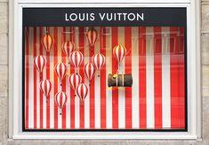 Louis Vuitton 'Hot Air Balloons' Window Display 2013