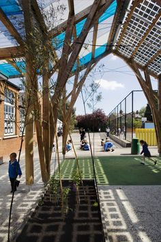 Westborough Primary School / Cottrell & Vermeulen Architecture