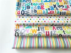 Cotton Fabric Patchwork Cartoon Tissue Cloth Of Handmade DIY Quilting Sewing Baby&Children Sheets Dress Material Letters And Numbers, Baby Sewing, Diy For Kids, Diy Clothes, Sewing Crafts, Print Patterns, Cotton Fabric, Arts And Crafts, Handmade