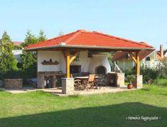 Garden Pavillion, Backyard Pavilion, Spanish Style Homes, Bbq Area, Outdoor Kitchen Design, Pool Landscaping, Outdoor Entertaining, Hobbies And Crafts, Garden Inspiration