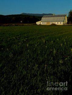 Mead-Fay Farm 1 - photograph by James Aiken Mead-Fay Farm 1  - Fine Art Prints and Posters for Sale james-aiken.artistwebsites.com #jamesaiken #vermontphotography #pastoralstyle