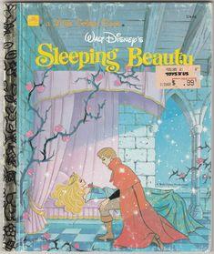 Barnyard Animals, Disney Sleeping Beauty, Price Sticker, Little Golden Books, Big Bird, Vintage Children's Books, Vintage Christmas Cards, Vintage Pictures, Walt Disney