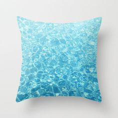 Bring a touch of coastal ocean style to your home interior furnishings with this square throw pillow cover accent, featuring a crystal blue nautical