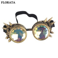 #BlackFriday is coming early #BestPrice #CyberMonday Retro Unisex Goggles Steampunk Glasses Welding Cosplay Sunglasses Vintage Victorian…
