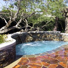 This little pool would be great in our new garden.   Small Pool Design, Pictures, Remodel, Decor and Ideas - page 6.... like the 1st one of the 6! check it out!