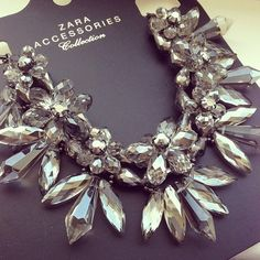 Zara Statement necklace.