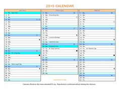 90 Day Calendar Template | Montly Calendar | Pinterest | Planning ...