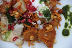 Soya nugget chaat — #Food #Recipe via @deenakakaya