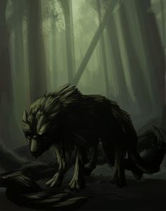 Cu Sith was a phantom hound that haunted the Scottish Highlands said to be owned by faeries. He would cross the realm of the Faery to ours to seek out mortal victims. Men would hear his blood curtling barks from the hills and hide their wives for they knew what he had come to take. The Cu Sith would come and steal mortal women to use their milk for Faery children. The beast was normally the size of a cow or calf and was dark green or black.