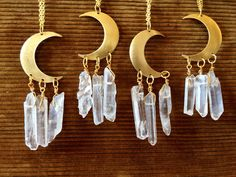 #jewels#moon#crystal#quartz#etk