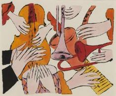 Andy Warhol, 'Instruments with Hands' 1957