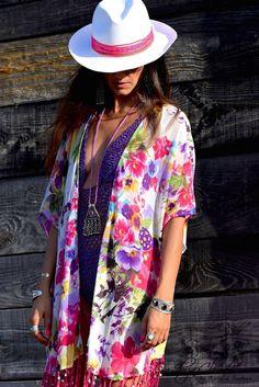 Ibiza, Kimono Top, Boutique, Tops, Women, Fashion, Moda, Fashion Styles, Fashion Illustrations