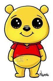 Winnie the pooh disney kawaii, disney art, cute disney, kawaii doodles, cute Kawaii Girl Drawings, Cute Disney Drawings, Cute Easy Drawings, Cute Animal Drawings, Cartoon Drawings, Drawing Disney, Draw So Cute Animals, Simple Cartoon Characters, Cute Characters