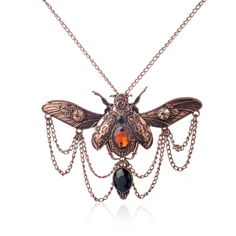 Cheap jewelry export, Buy Quality necklace costume jewelry directly from China jewelry stand for necklaces Suppliers: Vintage beetle pendant steampunk jewelry necklace